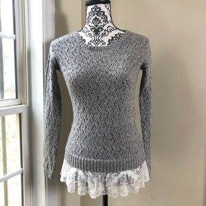Justice Blouse Size 12 Color Grey
